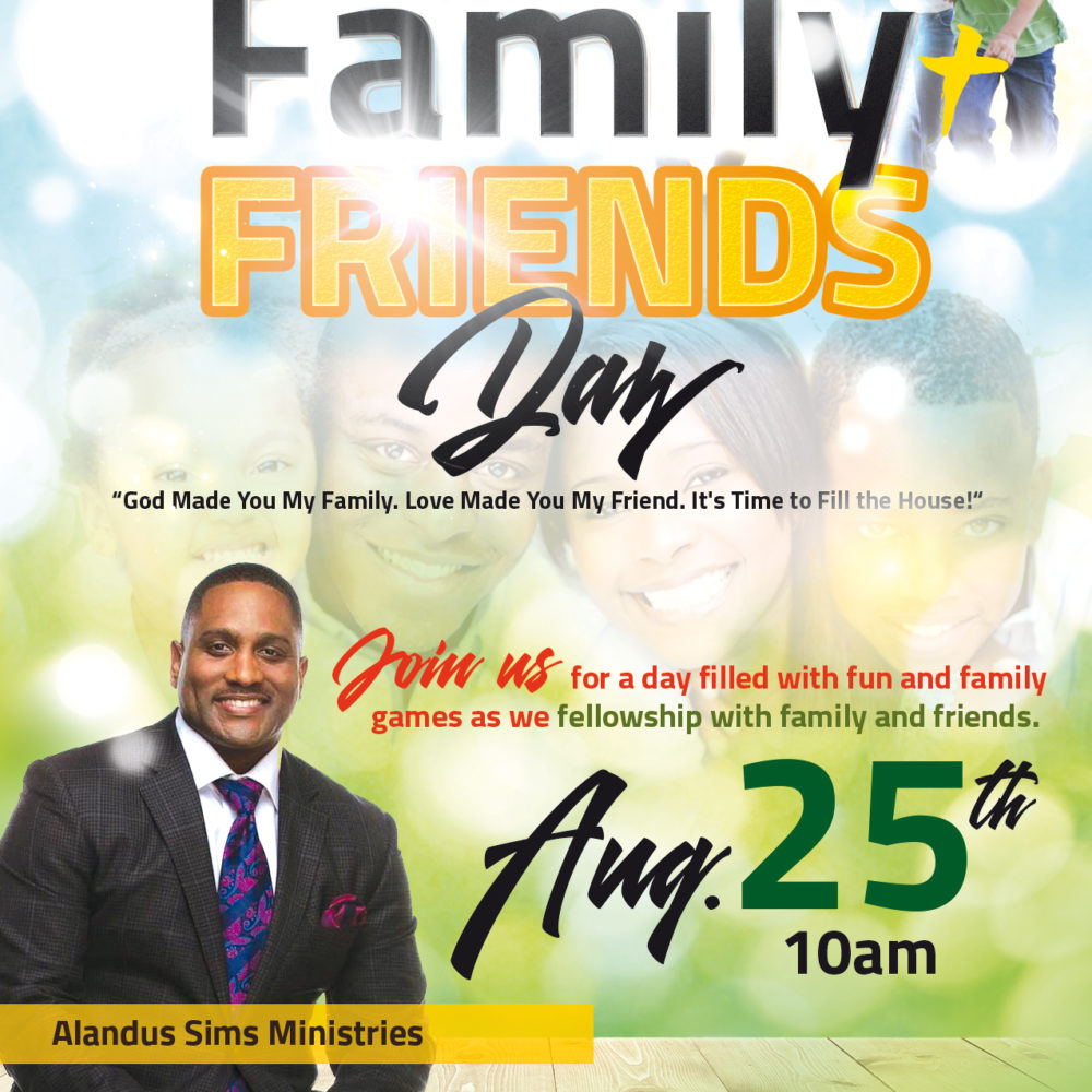 2019 Family & Friends Day