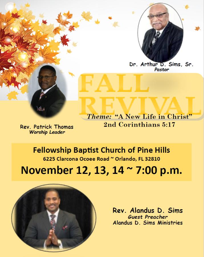Fellowship Flyer